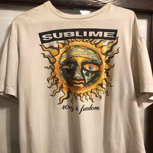 Vintage Sublime sun tshirt 2006 unisex size large